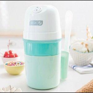 Ice cream maker. Make Healthy homemade ice cream.